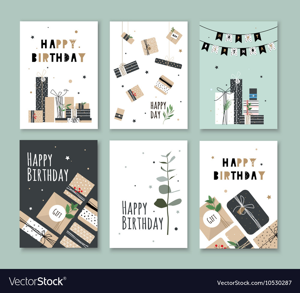 Bright postcard with a good day vector