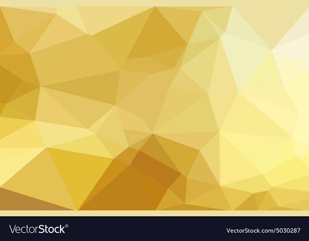 Low polygon background vector