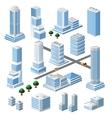 buildings vector image vector image
