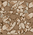 seamless texture of stone wall vector image