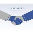 Handshaking vector image