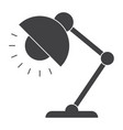 table lamp icon vector image vector image