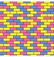 colorful bricks vector image