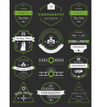 set of badges Photography and Videography vector image