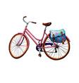 Bike and Bag vector image