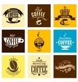 Hot fresh morning coffee banners vector image