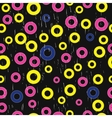 grunge seamless pattern with rings vector image vector image
