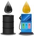 petroleum vector image