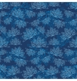 Winter abstract pattern vector image