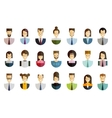 business people logo design template job vector image