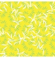 abstract foliar seamless pattern vector image
