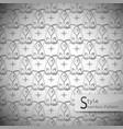 eyes mesh monochrome seamless pattern vector image