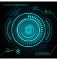 Hud Futuristic Background vector image