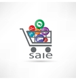 electronic equipment for sale icon vector image