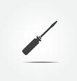 screwdrivers vector image