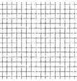 seamless hand drawn pattern with grid lines vector image