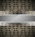 bar for text on patterned background vector image