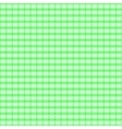 green seamless pattern in cell vector image vector image