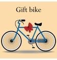 Bike gift active lifestyle sports vector image