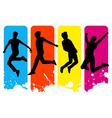 happy people icon vector image