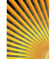 stylized sunrise vector image