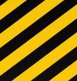 traditional warning stripe vector image
