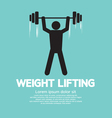Weight Lifter Athlete vector image