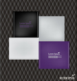 Cards Template Design vector image