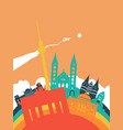 travel germany world landmark landscape vector image