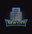 New city professional logo vector image