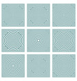 patterns with circles texture vector image