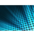Blue rays light 3D mosaic EPS 10 vector image