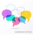 Communication concept vector image