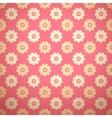 Feminine floral seamless pattern tiling vector image
