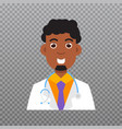 Doctor avatar medical staff icon vector image