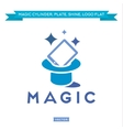 Magic Tablet from Cylinder everything sparkles vector image