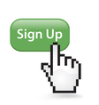 Sign Up Button vector image