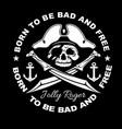 gangster label badge emblem design elements vector image