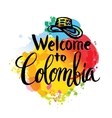 independence day of Colombia vector image