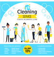 Cleaning Company Poster vector image