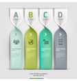 Communication technology spiral options banner vector image
