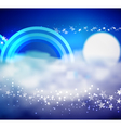 In the Clouds vector image