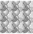 Pattern with circle elements vector image vector image
