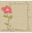Glamorous doodle frames vector image