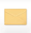 Realistic envelope vector image