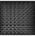 Black color abstract infinity background 3d vector image