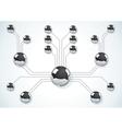 metal balls vector image