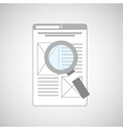 data analysis icon vector image