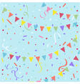 Party festive background vector image
