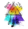 dream catcher sketch vector image vector image